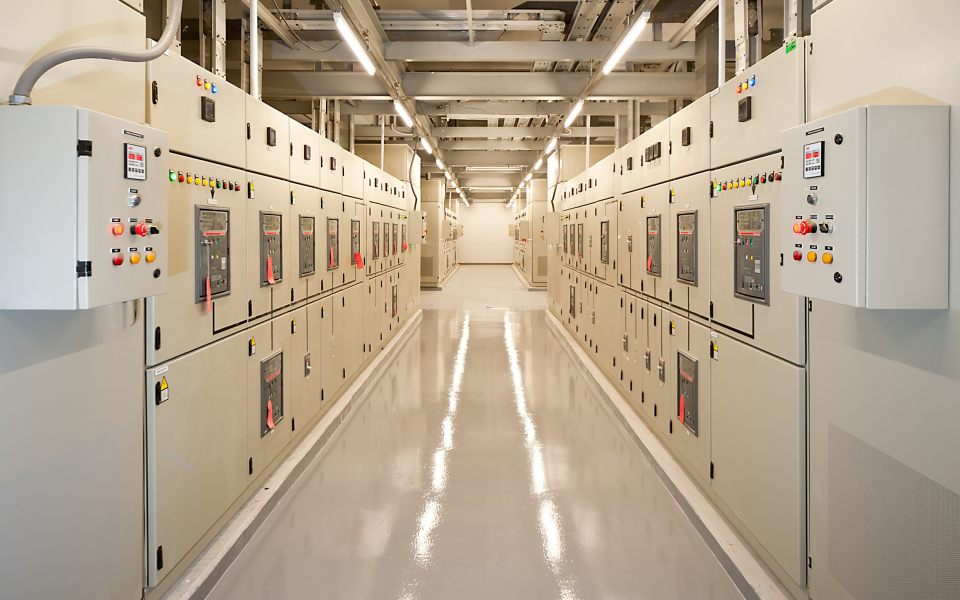 Industrial Panel Room
